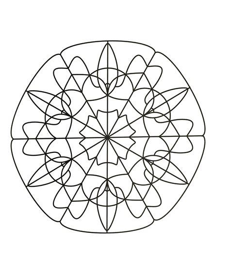 simple mandala coloring pages pdf simple mandala 89 mandalas coloring pages for to