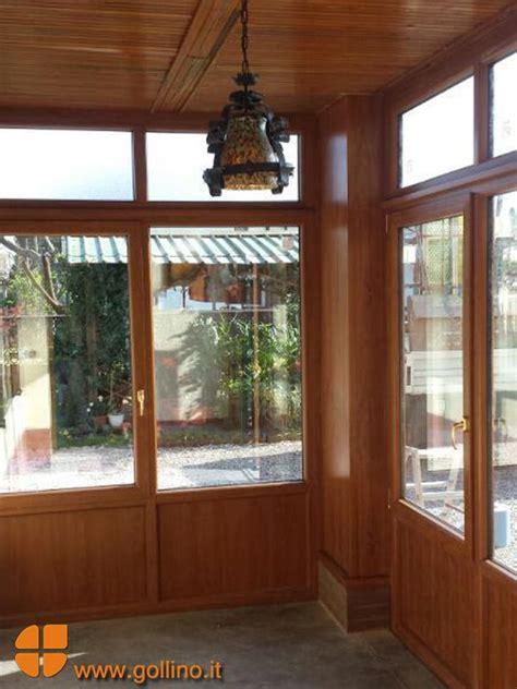 chiusura veranda in pvc veranda in pvc effetto legno per la chiusura di un