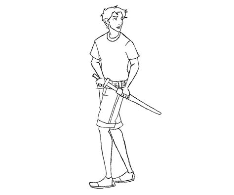 coloriage percy jackson cake ideas and designs