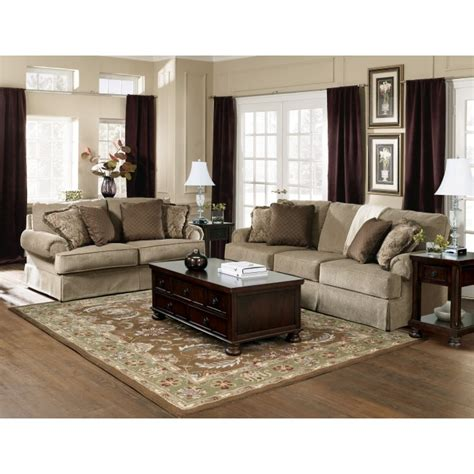 ashley furniture prices living rooms ashley furnituresheffield platinum 5 piece living room