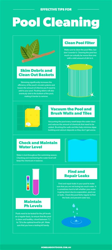 pool cleaning tips effective tips for pool cleaning home genius