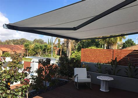 Awnings Perth Wa by Folding Arm Awning Carine Awnings Perth Commercial
