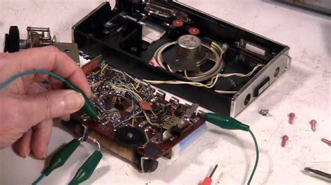oscillator troubleshooting transistor  radio bradford wtg  youtube