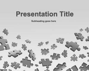 jigsaw puzzle powerpoint template