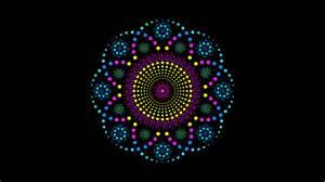 1 Floor Transition by Digital Geometric Mandalas Mark Golding