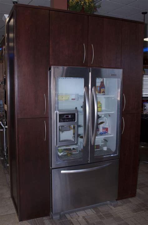 Handmade Custom Refrigerator (Fish Tank) Surround by