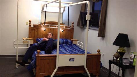 bed transferstrapeze  elderlydisabled rehab therapist