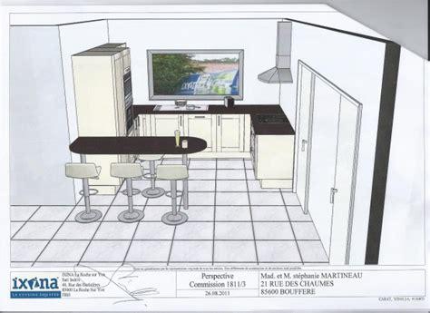 cr馘ence plan de travail cuisine plan cuisine en l avec ilot plan de cuisine en u avec
