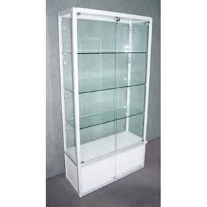 Glass Display Cabinets Made To Order Display Cabinet White