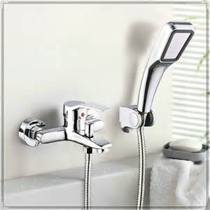 Bath Tap With Shower Head Wall Mounted Bathroom Faucet Bath Tub Mixer Tap With Hand