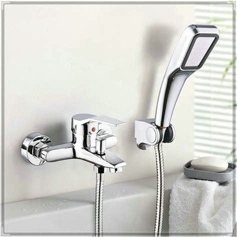 add shower head to bathtub faucet wall mounted bathroom faucet bath tub mixer tap with hand