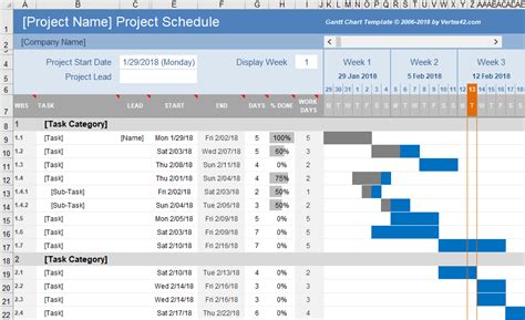 t card template excel free gantt chart template for excel