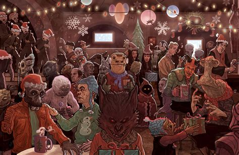 star wars christmas cards happy hothidays technabob