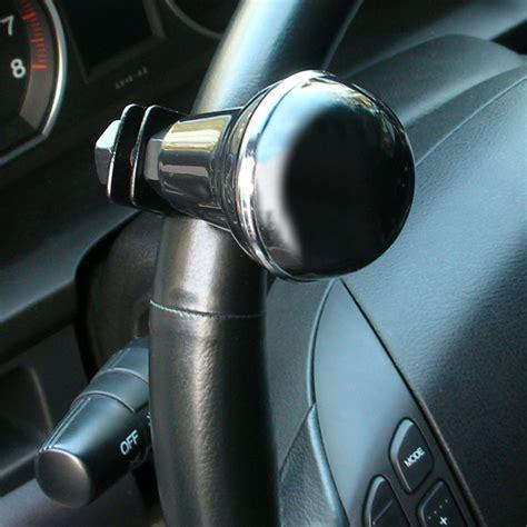 Truck Steering Wheel Knob by Hypersonic Black Car Steering Wheel Knob Power Handle