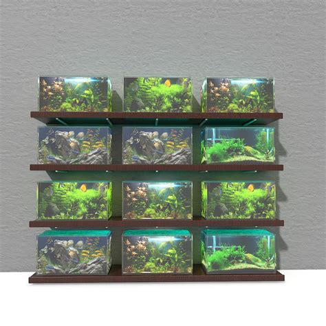 model aquarium fish tanks aquariums textures