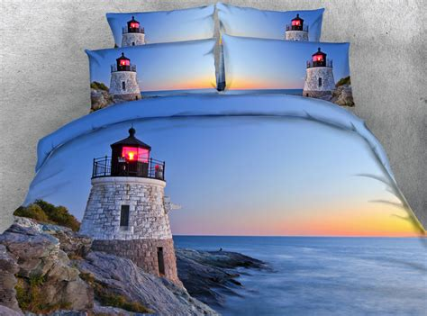 lighthouse comforters popular ocean bed sheets buy cheap ocean bed sheets lots