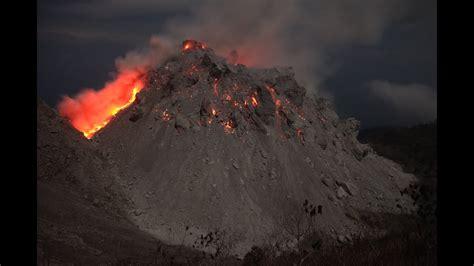 paluweh rokatenda volcanoes lava dome erupting  night