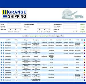 Synergy Cargo Management Container Tracking K Line Tracking K Line Container Cargo Tracking
