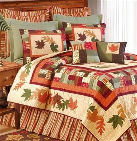 Nautical Bedspreads Or Comforter Sets Amber Leaves Bedding Atlantic Linens