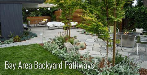backyard bay bay area backyard pathways