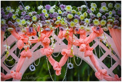 flower decoration indian wedding decoration ideas unique and creative