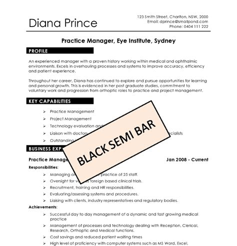 Diy Resume Template by Diy Resume Templates Absolute Resume