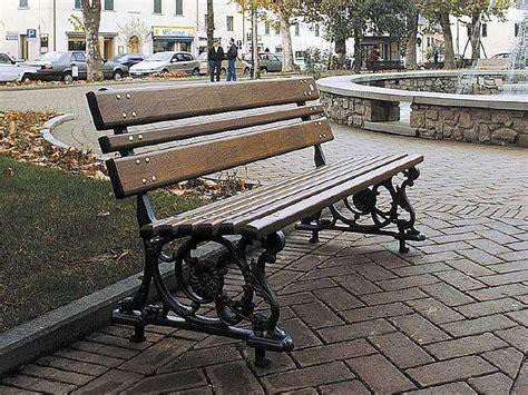 marinelli arredo urbano 103 panchina genova per parchi e giardini da marinelli