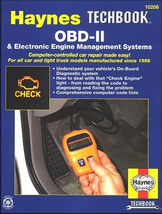 obd ii electronic engine management systems 1996 on haynes