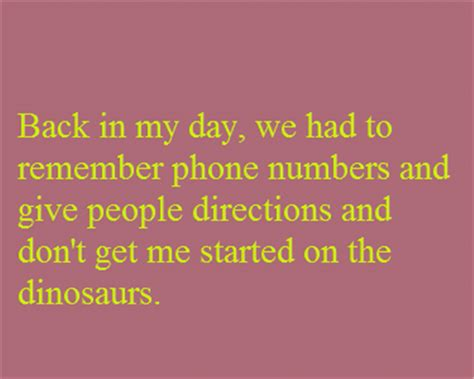 back in the day quotes dump a day