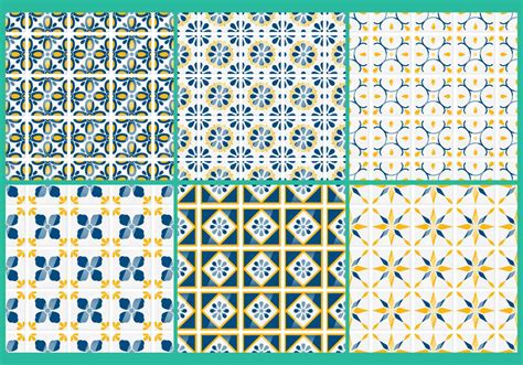 talavera vector patterns   vector art stock