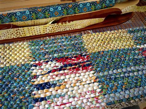 Rag Rug Weaving by Warped For