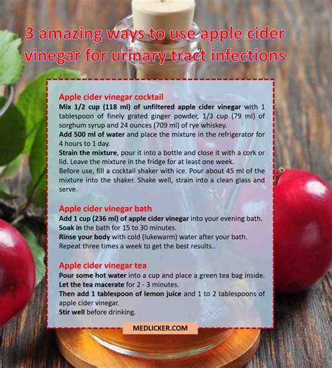 ear infection vinegar 9 amazing ways to use apple cider vinegar as a remedy for utis