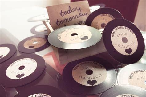 vinyl cd wedding invitations wedding invitations vintage cd s vinyl record appearance