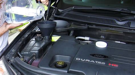 Top 1 Power Coolant Air Radiator Coolant Hijau 4 Liter Made In Usa how to ford mondeo focus duratec he coolant change