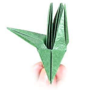 Origami Calyx - how to make a cb standard origami calyx with five sepals