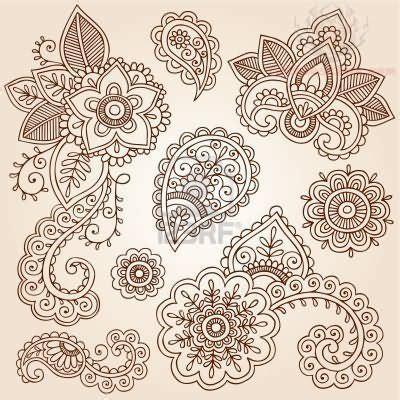 henna design ribbon ribbon lace drawings henna flowers paisley pattern