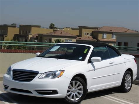Used Chrysler 200 Convertible by Chrysler 200 Convertible Touring Used Mitula Cars