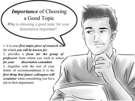 how to choose a dissertation topic how to choose a dissertation topic some ideas to remember