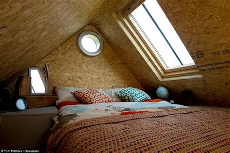 Bed Built Into Floor by Hereford Build A Cabin From Scrap For Just 163 1k So They Could Save For A Deposit Daily