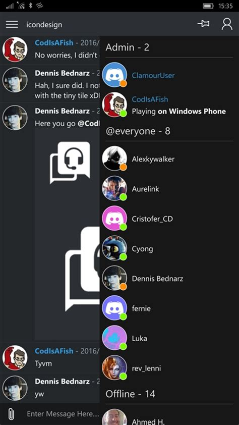 discord xbox app third party discord app clamour released for windows 10