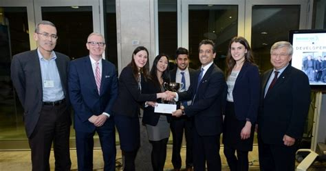 Second Mba In Canada by Schulich Mba Students Win Developers Den Competition