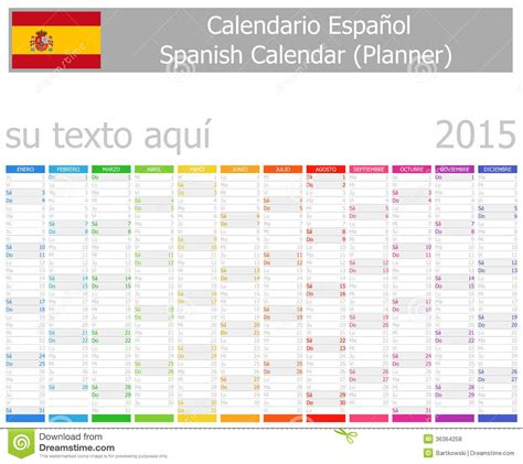 Calendario Z Cup 2015 Calendar 2015 Espa Ol Page 2 New Calendar Template Site
