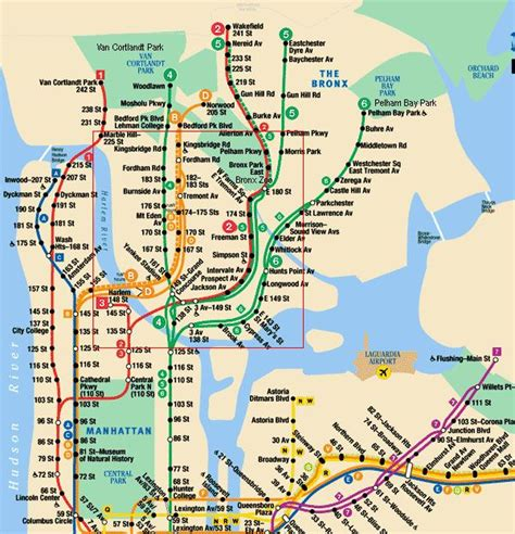 map of subway nyc subway map nyc and the bronx search new york