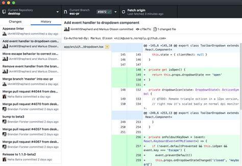 github desktop tutorial mac github desktop simple collaboration from your desktop