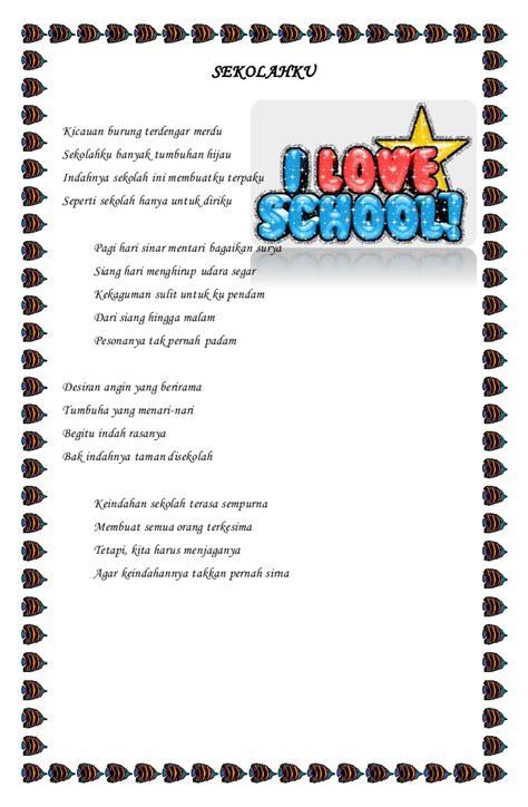 Jelita Senandung Hidup Kumpulan Puisi kumpulan puisi sekolahku
