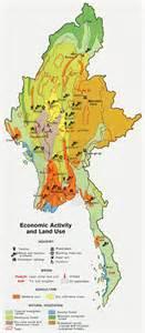 political map of myanmar maps burma