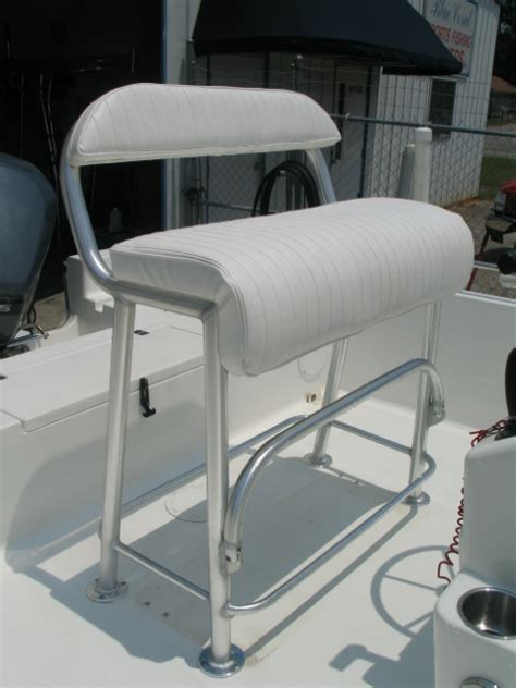 boat leaning post blue coral sport fishing towers leaning posts