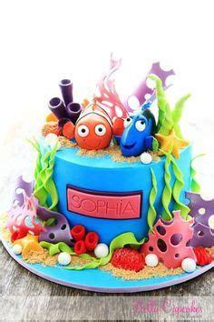 fondant finding nemo finding dory fish and friends the sea inspired cupcake toppers
