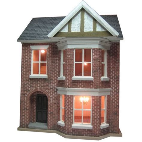 24th scale dolls house bay view house unpainted kit 1 24 scale bdh0124
