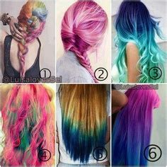 crazy hair color ideas hairstyle ideas magazine 1000 images about crazy hair color on pinterest crazy hair